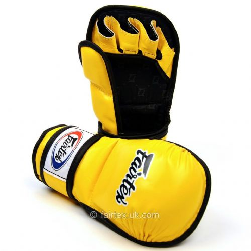 Fairtex MMA Sparring Gloves - Yellow